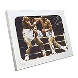 Exclusive Memorabilia Foto di Boxe autografata da Roberto Duran. in Confezione Regalo