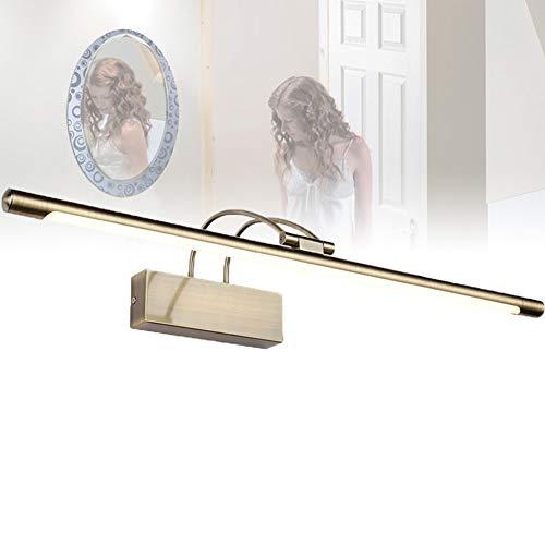 ELEYHO wastafellamp, make-upspiegellampen, draaibare lampenkop, led vanity verlichting voor badkamer, kleedkamer, wastafel