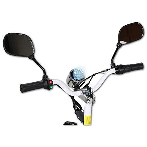 Bruni Schutzfolie kompatibel mit eFlux Street 40 Folie, glasklare Displayschutzfolie (2X)