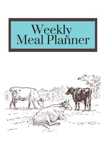Weekly Meal Planner - Includes Weekly Meal Planner and Shopping List