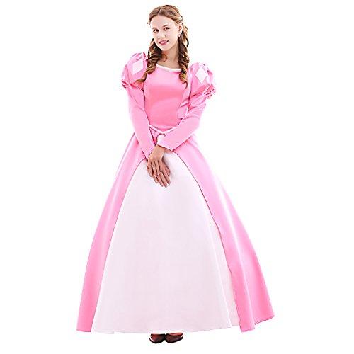 Fortunehouse Ariel - Disfraz de princesa para cosplay