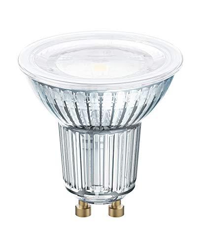 Osram LED STAR PAR16 Bombilla LED reflectora , Casquillo GU10 , 2700 K , 6,90 W , Equivalente a 80W , Blanco cálido