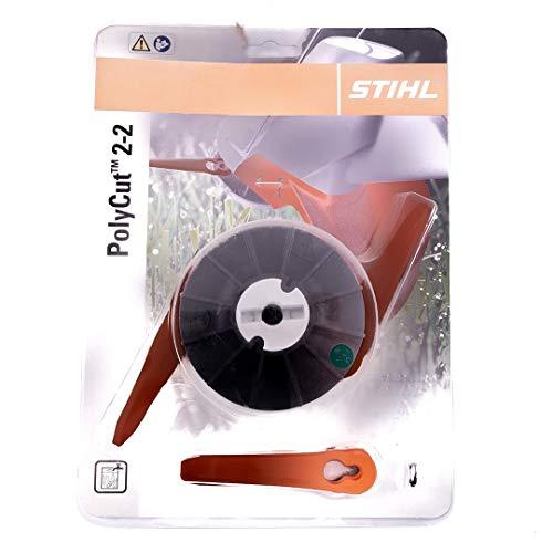 Stihl 40087102102 Poly Cut 2-2 Mähkopf, schwarz