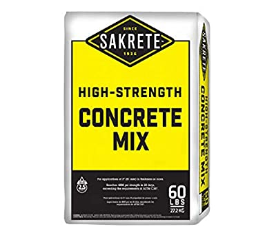 SAKRETE | High-Strength Concrete Mix | 60 lb