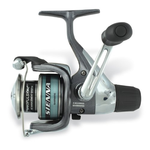 SHIMANO Sienna 5.2:1 6-Pounds/110 RD Spin Reel (Ultra Light)