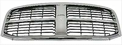 Sherman Replacement Part Compatible with Dodge Pickup Grille Assembly (Partslink Number CH1200282)