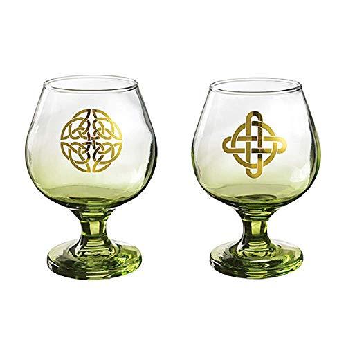 Grasslands Road Irish Cream Glasses Set of 2