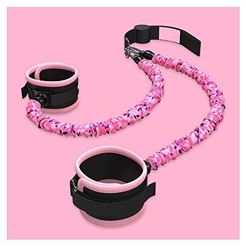 Entrenador Elástico De Flexibilidad De La Puerta Y La Correa De La Pierna, Mejora La Extensión De La Pierna, Equipo De Ballet para El Hogar, Práctica De Taekwondo (Color : Pink)