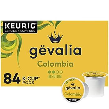 Gevalia Colombia Medium Roast K-Cup Coffee Pods  84 ct Box