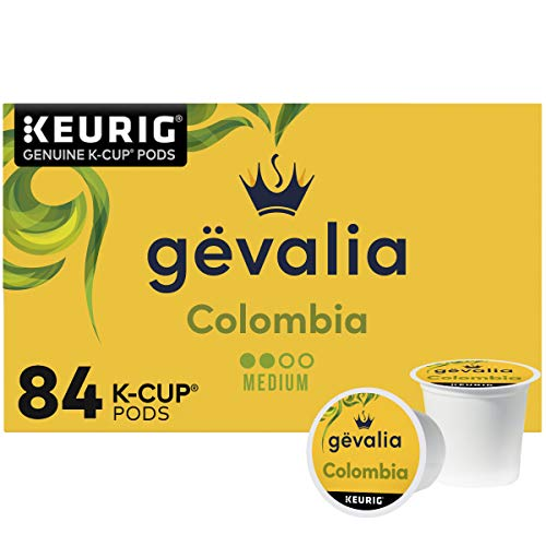 Gevalia Colombia Blend Medium Roast K-Cup Coffee Pods (84 Pods)