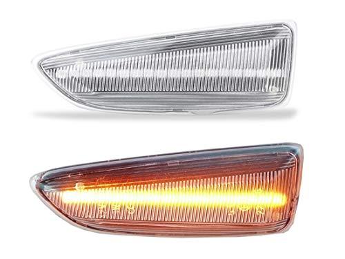 DoLED LED Seitenblinker Blinker klar/Klarglas kompatibel für Astra J K | Insignia B...