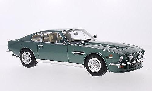Aston Martin V8 Vantage, metallic-Grün, RHD, Modellauto, Fertigmodell, GT Spirit 1 18
