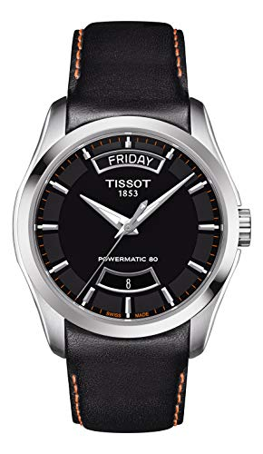 Tissot Couturier Automatic Black Dial Men's Watch T035.407.16.051.03
