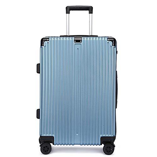 XIANGSHAN Práctico ABS + PC Estuche de Trolley, Elegante Bolsa de Equipaje de súper Almacenamiento, Ruedas de Viaje Rolling Boarding, 20'22' 24'26' (Color : Red, Size : 26inch)