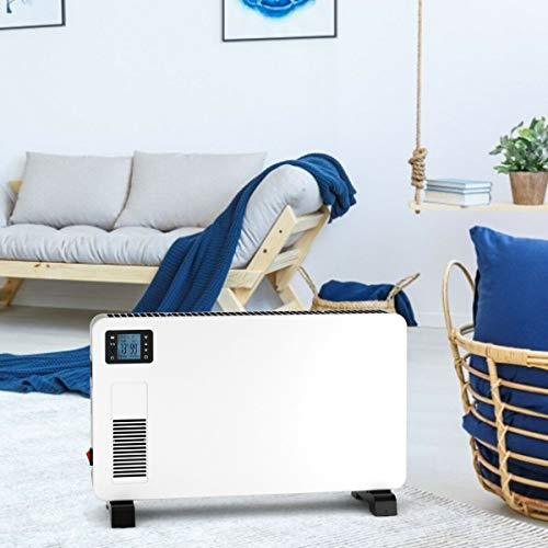 Fantastic Deal! Home Office Bedroom Living Room Guest Room 1500 Watts Freestanding White Convector S...