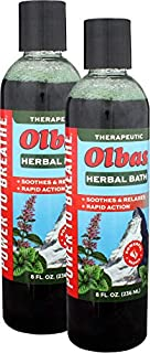 Olbas Herbal Bath, 8 fl oz / 236 ml, 2-Pack