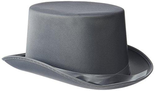 Rire Et Confetti - Fiedis072 - Accessoire pour Déguisement - Chapeau Haut De Forme Gris