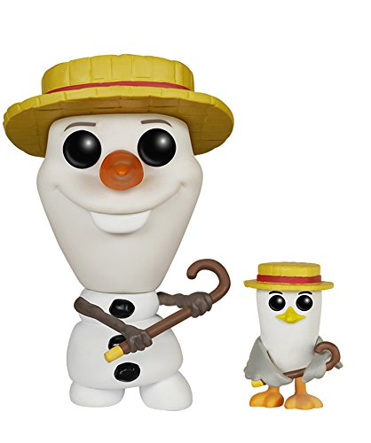 Funko 599386031 - Figura Frozen - Olaf y Gaviota
