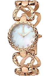 Rose Gold Plated Stainless Steel Case and Bracelet and White MOP dial