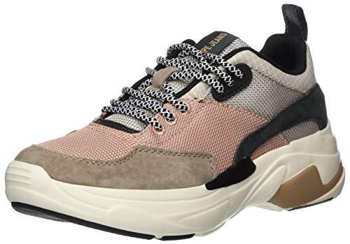 Pepe Jeans London Damen SINYU Mood Sneaker, Braun (Pale 321), 39 EU