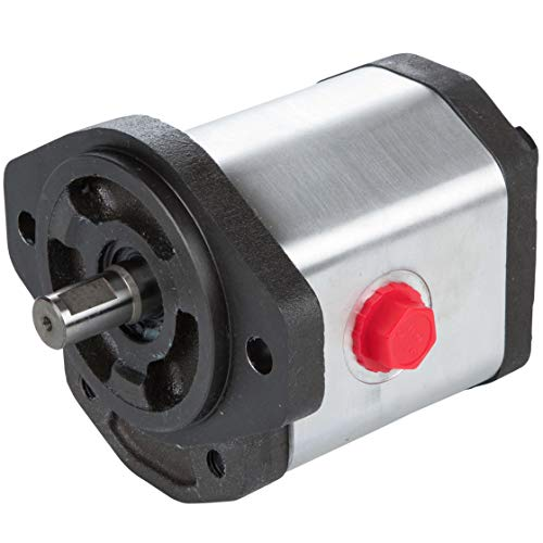 RuggedMade Hydraulic Gear Pump, 23 GPM Single Stage, Clockwise Rotation, 3600 PSI