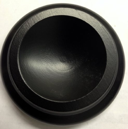 Grand Piano Hardwood Wheel Coasters Caster Cups 3 Black Satin