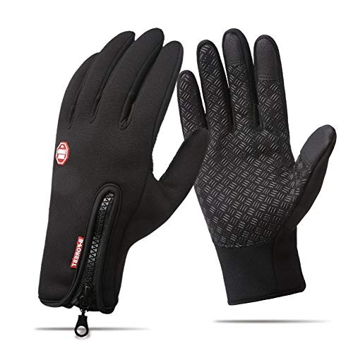 Touchsceen Fleece Insulated Gloves, Thermal Windproof Snowproof Warm Gloves...