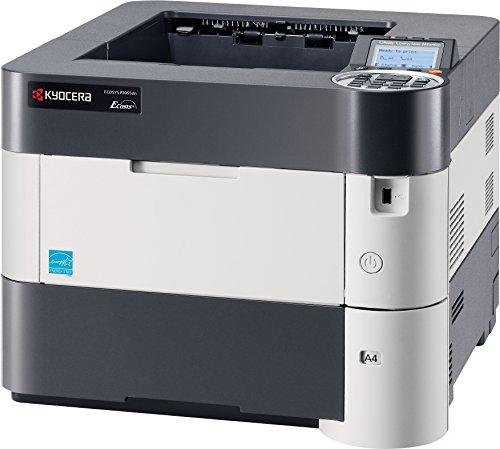 Kyocera Ecosys P3055dn SW-Laserdrucker (drucken bis zu 55 Seiten/Minute, 1.200 dpi)