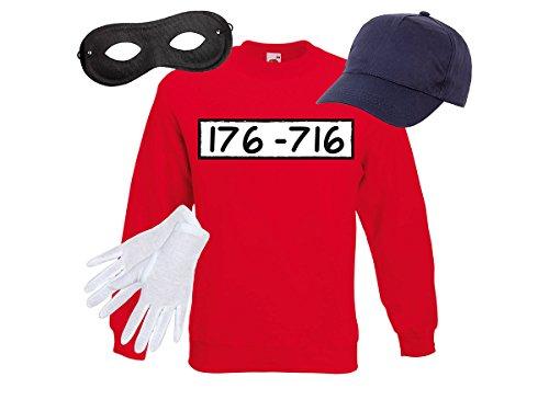 Alsino ® Beagle Jongens Kostuum | Unisex | Maat | Trui, Cap, Handschoenen, Masker | voor Carnaval | Thema Party | Volwassenen | Tieners