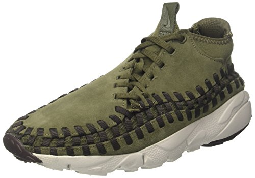 Nike Air Woven Chukka, Scarpe da Ginnastica Uomo, Verde (Cargo Khakivelvet Brown Hyper Violet), 44 EU