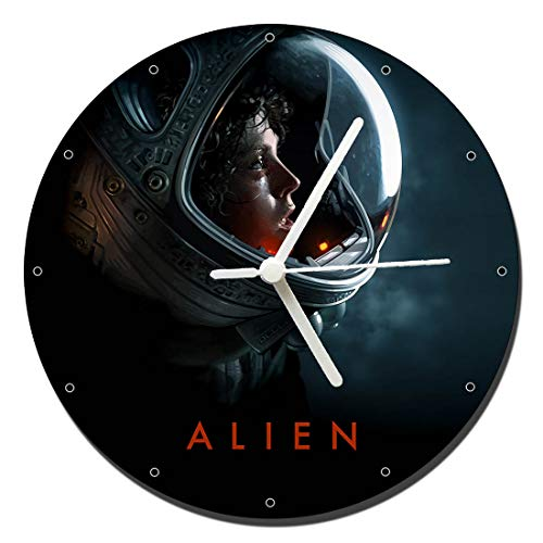 MasTazas Alien Sigourney Weaver Ellen Ripley B Reloj de Pared Wall Clock 20cm