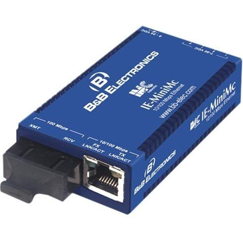 IMC Networks IE-MiniMc, TP-TX/FX-SM1310/PLUS-ST convertitore multimediale di rete 100 Mbit/s