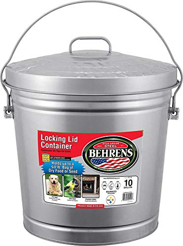 10 gallon bucket with lid - 4