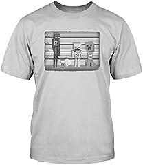 Minecraft Camiseta Básica de Manga Corta para Hombre