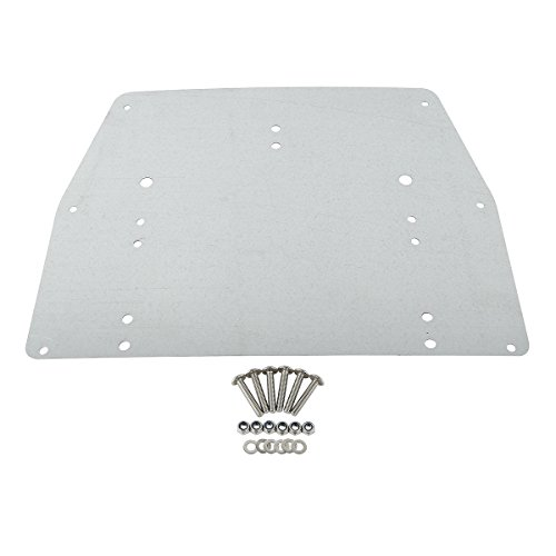 Best Price SLMOTO Trunk Base Plate For Harley Davidson Tour Pak Touring FL Models 1993-2013 2012