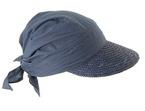 Seeberger Damen Schirmmütze Serie Rügen, Gr. one size , Blau (tinte 0068)
