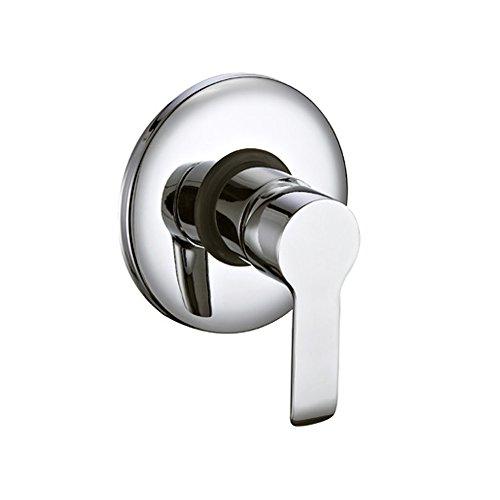 Idro Bric SCARUB0796CR - Grifo mezclador empotrado para ducha, cromado
