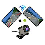Casoda WiFi Wireless Backup Camera for iPhone and Android,Ultra Strong Signal Smooth Video Never Freezing Clear Picture Suitable for Cars SUVs RVs etc,Easy to Install