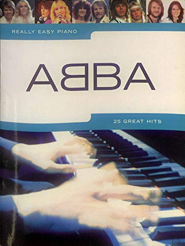 Really Easy Piano : ABBA - 25 Great Hits - Partitions pour piano [Notes de musique]