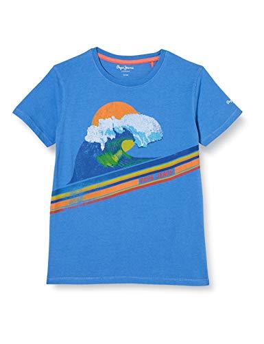Pepe Jeans Alexandre Camiseta, Azul (Avedon 543), 2-3 años (Talla del Fabricante:...