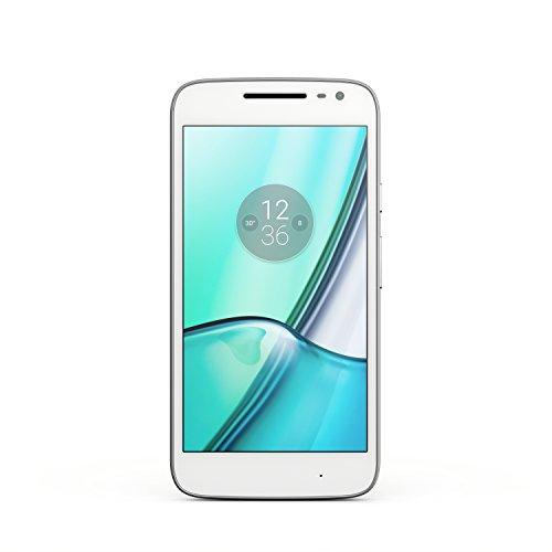 Motorola Moto G4 Play Smartphone (12,7 cm (5 Zoll), 16 GB, Android) [Französische Version] weiß
