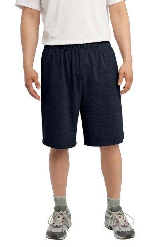SPORT-TEK Men's Jersey Knit Short with Pockets XL True Navy