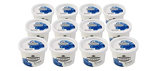 無添加アイスクリーム 木次 VANAGA ブルーベリー 120ml×12個★クール冷凍便★天然素材100パーセント