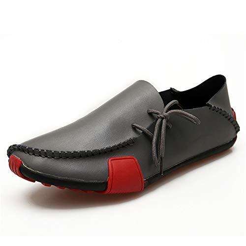 GPF-fei Heren Schoenen, Spring Fall Lederen Rijschoenen Comfort Loafers & Slip-One Ronde Teen Schoenen Schoenen Schoenen Wandelschoenen Hardloopschoen Mode