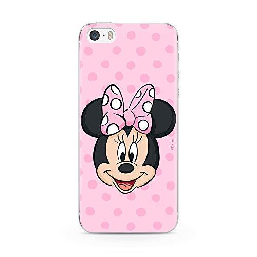 Ert Group DPCMIN37126 Custodia per Cellulare Minnie 057 iPhone 5/5S/SE