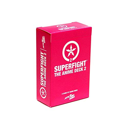 Superfight Anime Deck 2: 100 Expansion Cards for The Game of Absurd Arguments | for Kids Teens Adults, 3 or More Players, Ages 8+