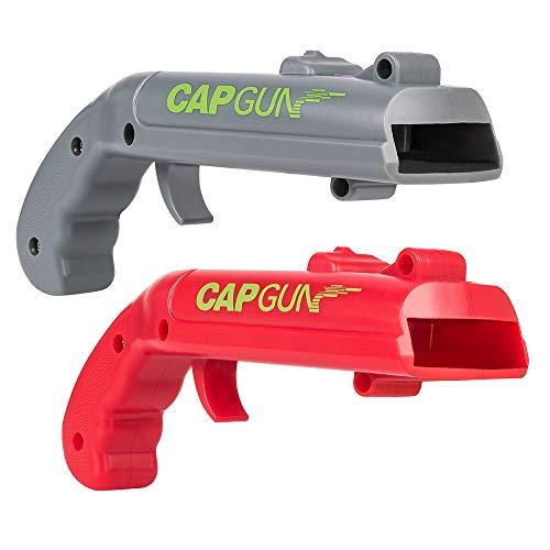 MIMIVIVA Cap Gun Bottle Opener [2 in 1 Pack], Beer Bottle Cap Gun Toy Gun,...