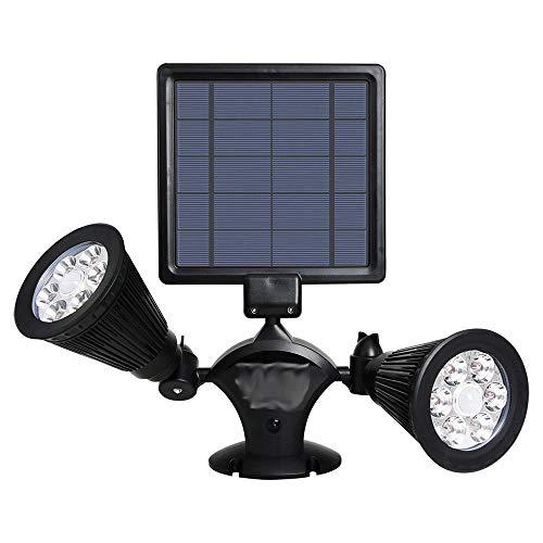 Solar Lights Outdoor, Solar Motion Sensor Beveiliging Licht waterdichte draadloze zonne-energie Light Outdoor Muur Lights Solar Lamp for tuin, omheind