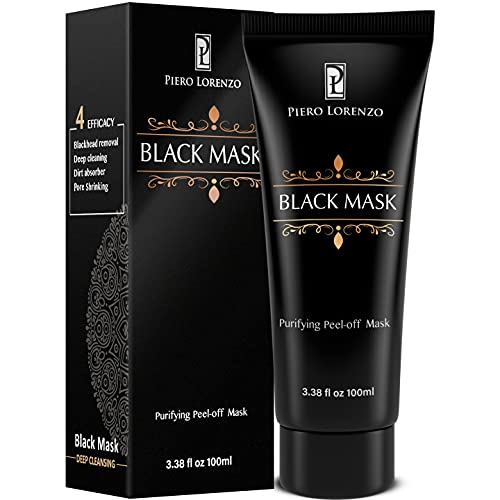 Blackhead Remover Mask 100 ML, Purifying Peel Off Mask Remover Mask, Charcoal Face Mask for Deep Cleansing Blackheads, Dirts, Pores
