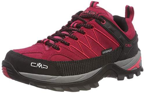 CMP Damen Rigel Low Wmn Shoes Wp Trekking-& Wanderhalbschuhe, Rot (Granita-Corallo 72bm), 36 EU